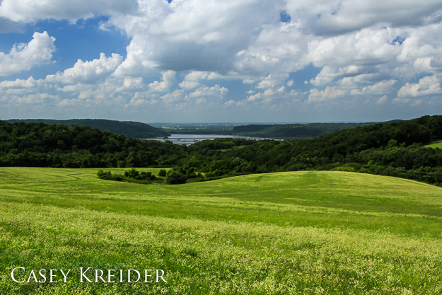 Highpoint Scenic Vista & Recreation Area over the Susquehanna River, July 14, 2013.