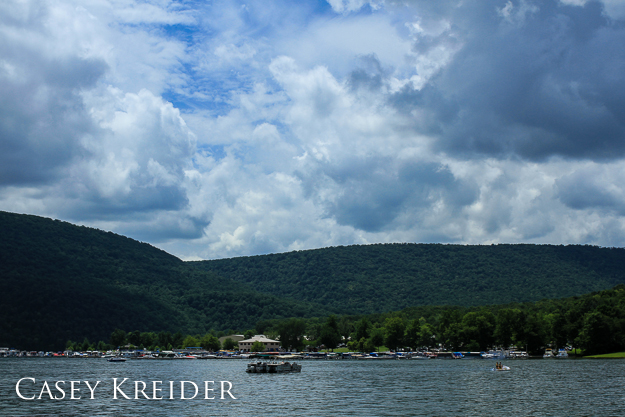 Raystown Lake at the Seven Points Marina in Huntingdon County, July 7, 2013.