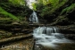 Upper section of 60-foot Ozone Falls at Ricketts Glen State Park.