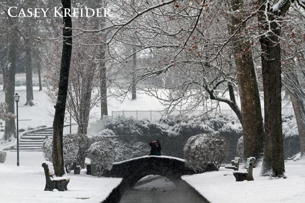 lititz springs park snow blog 2
