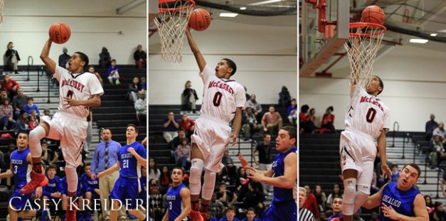 A few photos from a high school basketball game between J.P. McCaskey and Cocalico in Lancaster Wednesday evening. McCaskey won 76-63.