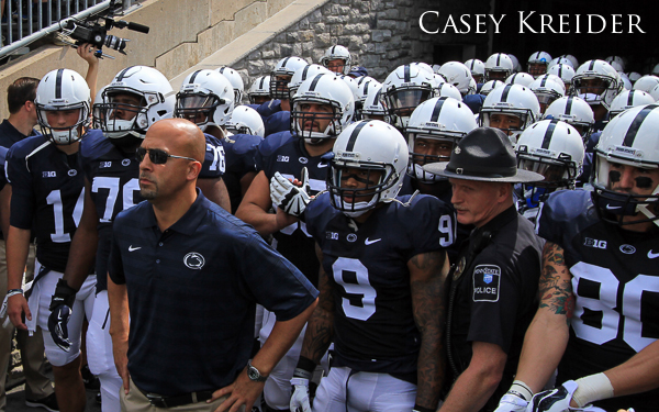 A few photos before Penn State's home opener against Akron on Saturday, Sept. 6 in Happy Valley. Penn State won 21-3.