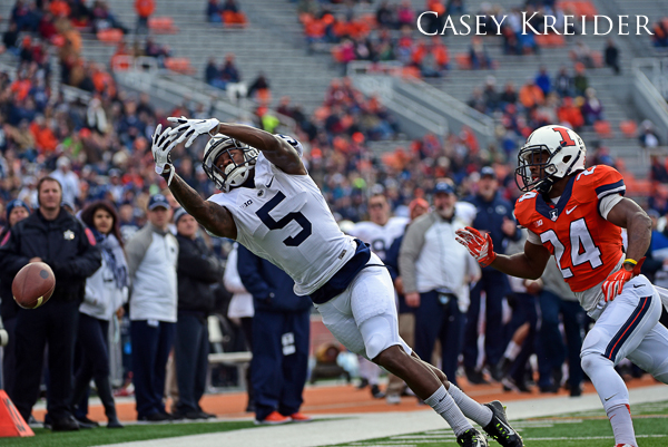 A few game photos from Penn State's 16-14 loss to Illinois in Champaign.