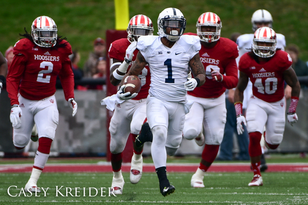 A few game photos from Penn State's 13-7 win over Indiana in Bloomington.